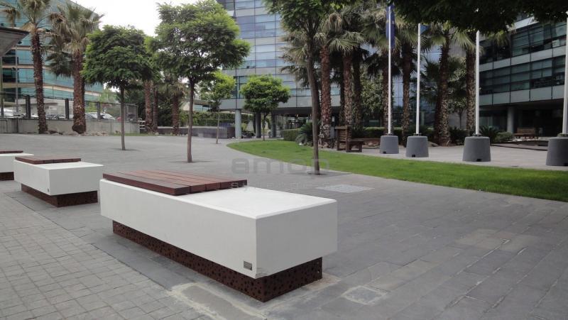 Amop urban mobiliario urbano elementos urbanos for Mobiliario espacio publico